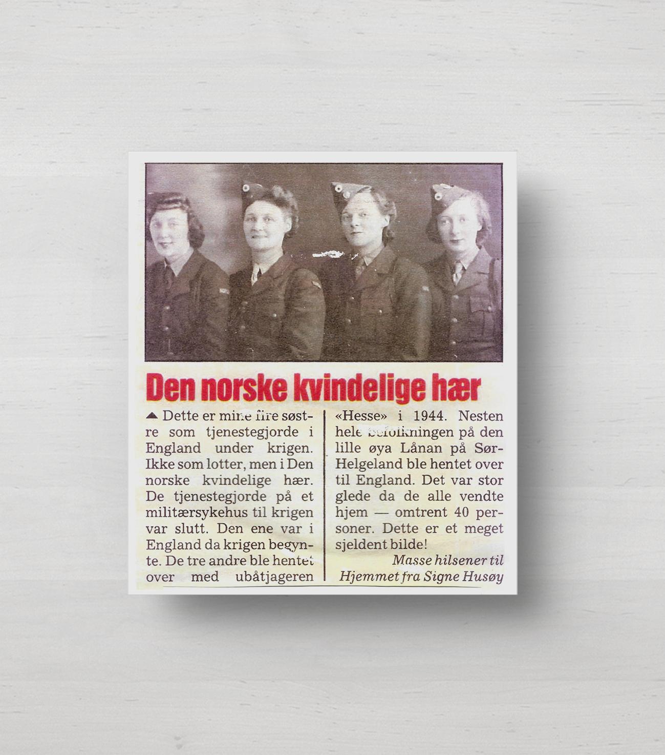 Den norske kvindelige hær