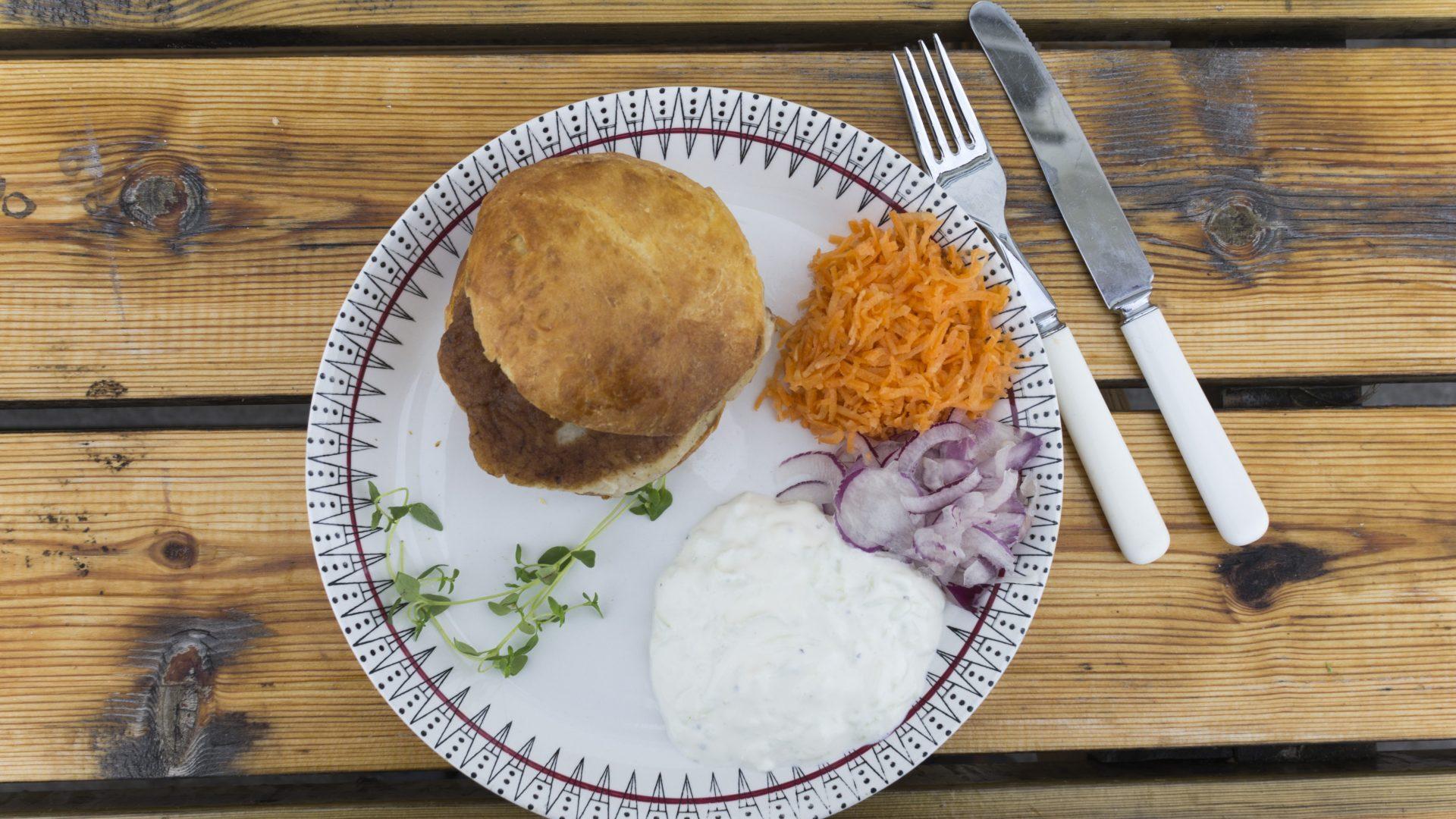 Fiskeburger fra Lånan